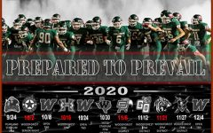 The 2020 TWHS football schedule.