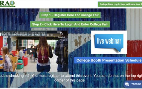 Visit the TACRA website to register for the virtual college fair.