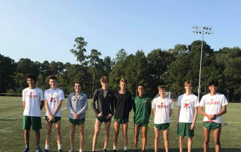 The Boys' Varsity A team at Bear Branch Park on Saturday, Oct. 5