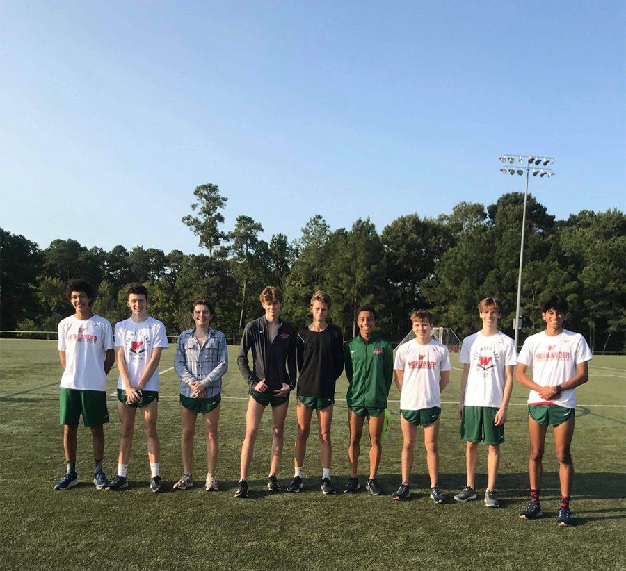 The Boys' Varsity A team at Bear Branch Park on Saturday, Oct. 5