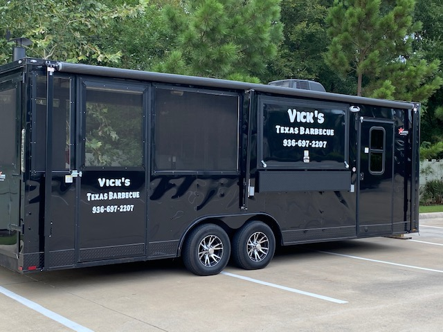 The BBQ truck allows Vick's to travel, keeping BBQ nearby.