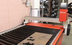 The plasma table is state of the art.  Students use it to cut sheet metal.