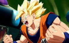 A dramatic intro of Goku.