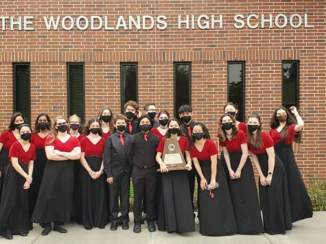 Chamber Orchestra and their award at TWHS.